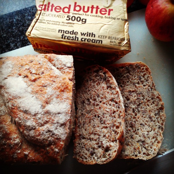 Whole Wheat Flaxseed Bread