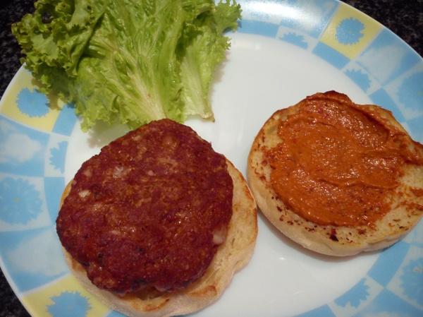 Beef and Feta Burger