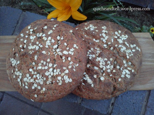 Sweet Potato Oat Whole Wheat Loaf 1