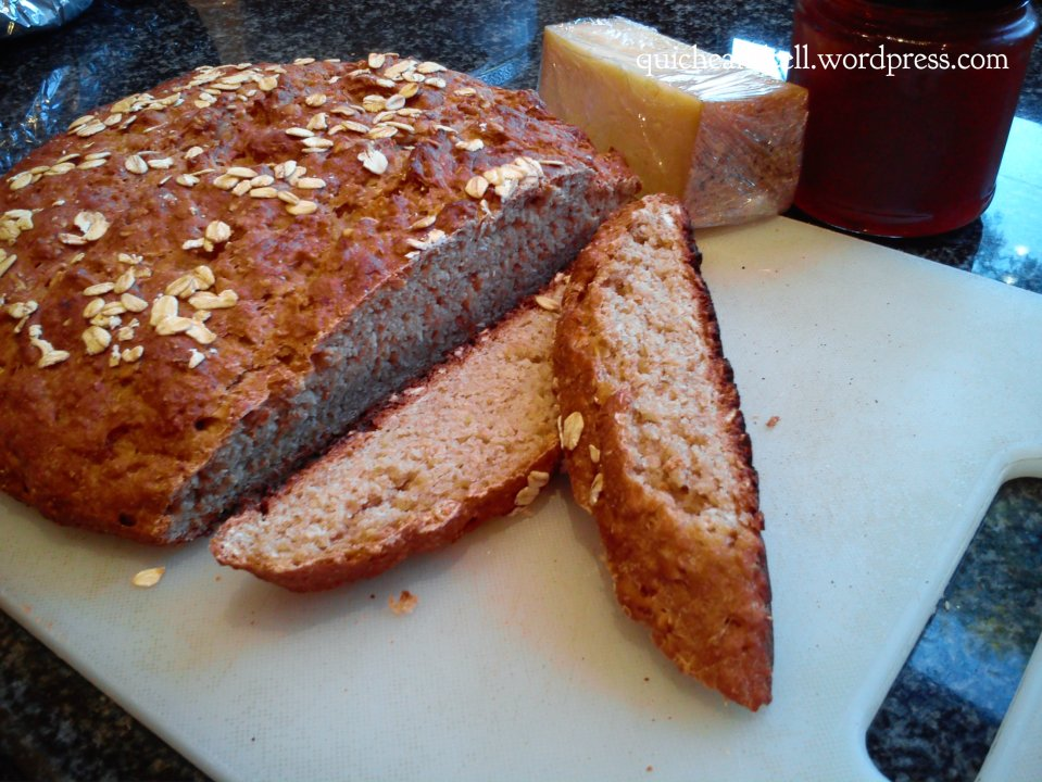 Sweet Potato Oat Whole Wheat Loaf 2