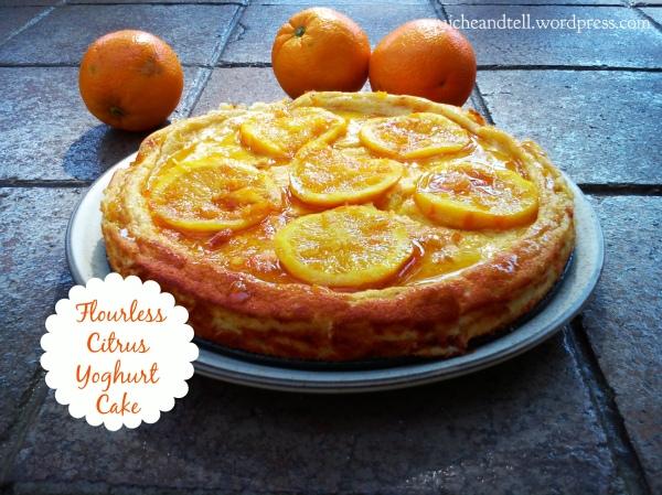 Flourless Citrus Yoghurt Cake