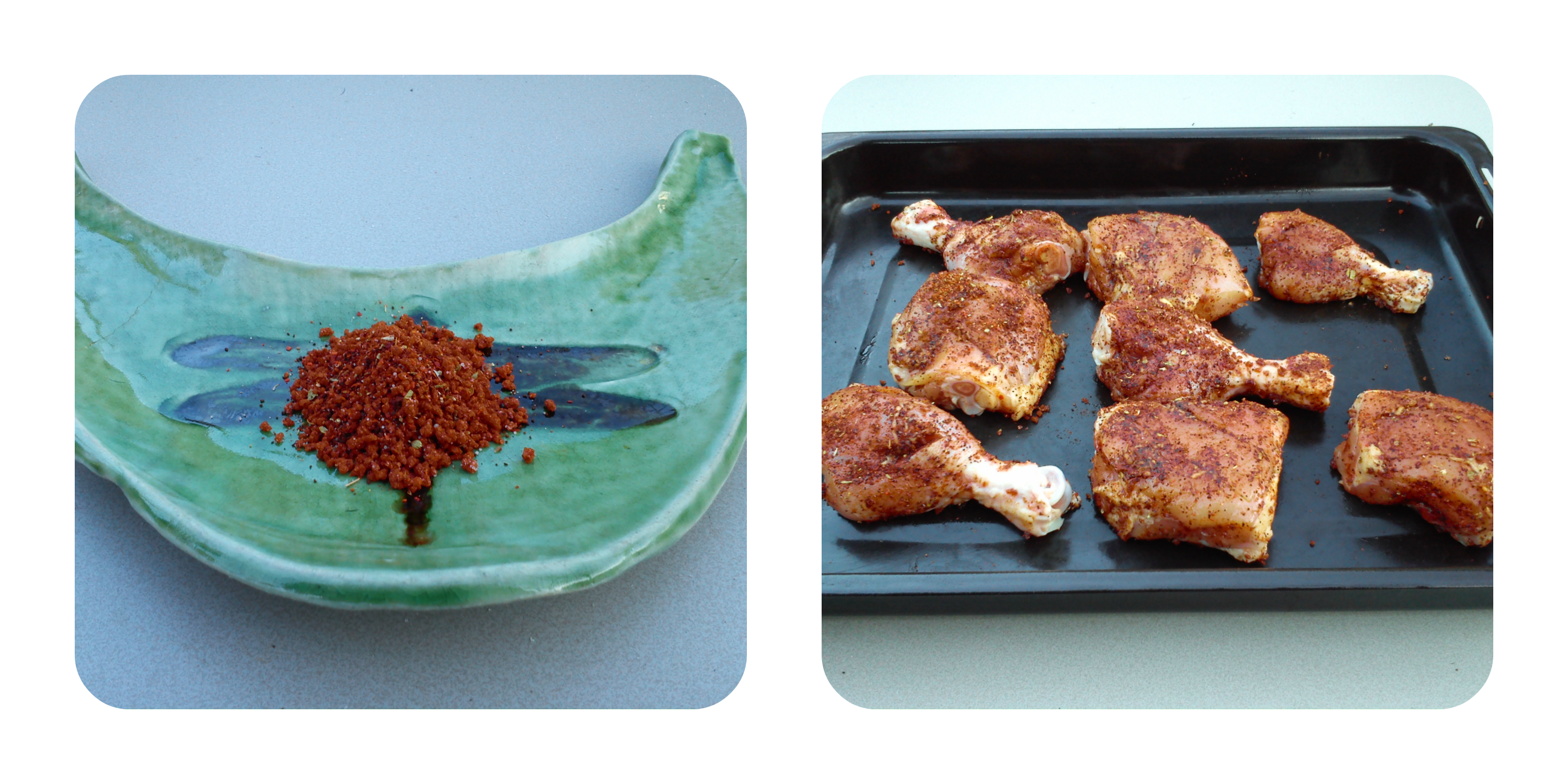Coffee Rubbed Chicken 1