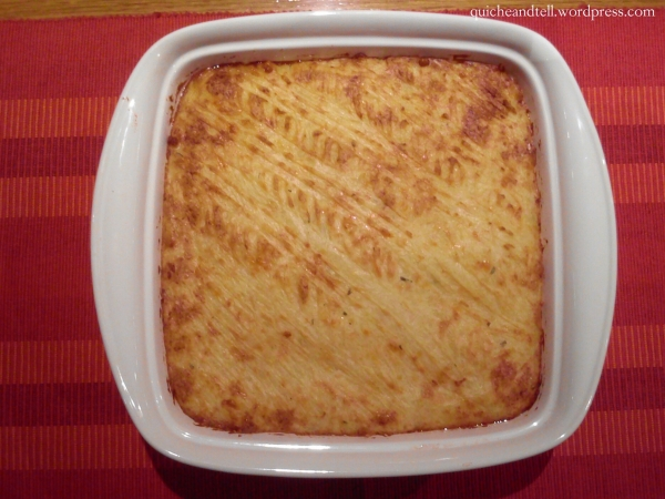 Shepherd's Pie With Rosemary-Scented Potatoes